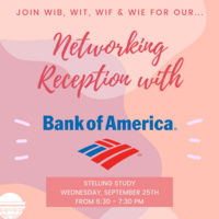 Women in Business: Bank of America Networking Reception