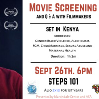 "5x10: Movie Screening ""The Cut"" Q&A with film makers"