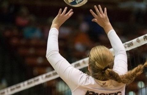 Women's volleyball vs University of Portland