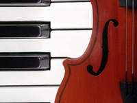 Stephen Redfield, violin, and Joanna Burnside, piano