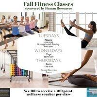 Fall Fitness Classes