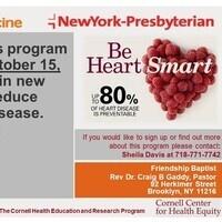 HeartSmarts Cardiovascular Health Class at Friendship Baptist Church