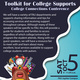 Toolkit for College Supports College Connections Conference