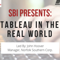Tableau in the Real World (with Norfolk Souther Corp.)