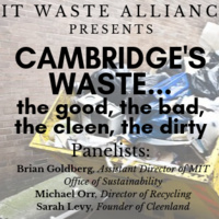 Cambridge's Waste... the good, the bad, the cleen, the dirty