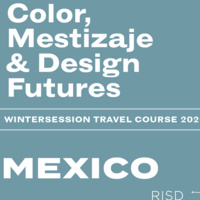 Wintersession infosession | Mexico: Color, Mestizaje & Design Futures