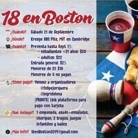 """Chilean National Day Celebration """"18 en Boston"""""""