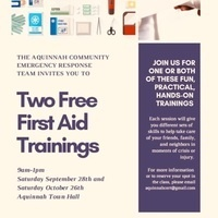 First Aid Trainings