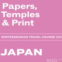 Wintersession infosession |  Papers, Temples & Print