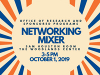 ORSP Networking Mixer at The Woodlands Center
