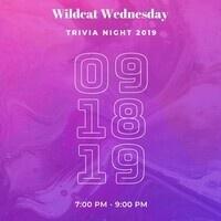 Wildcat Wednesday Trivia Night