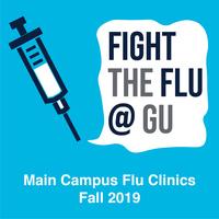 Fight the Flu @ GU | Main Campus Flu Clinics