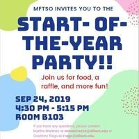 MFTSO START OF THE YEAR PARTY