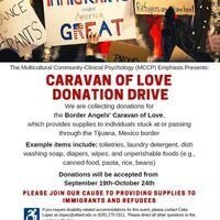 Caravan of Love Donation Drive