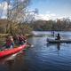 Canoeing on Upper Lake