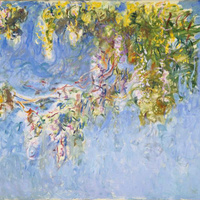 "Sunday Object Talk:  Monet's ""Wisteria"""