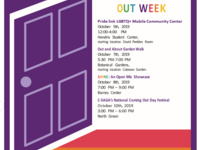 National Coming Out Week: SHINE: Open Mic Showcase