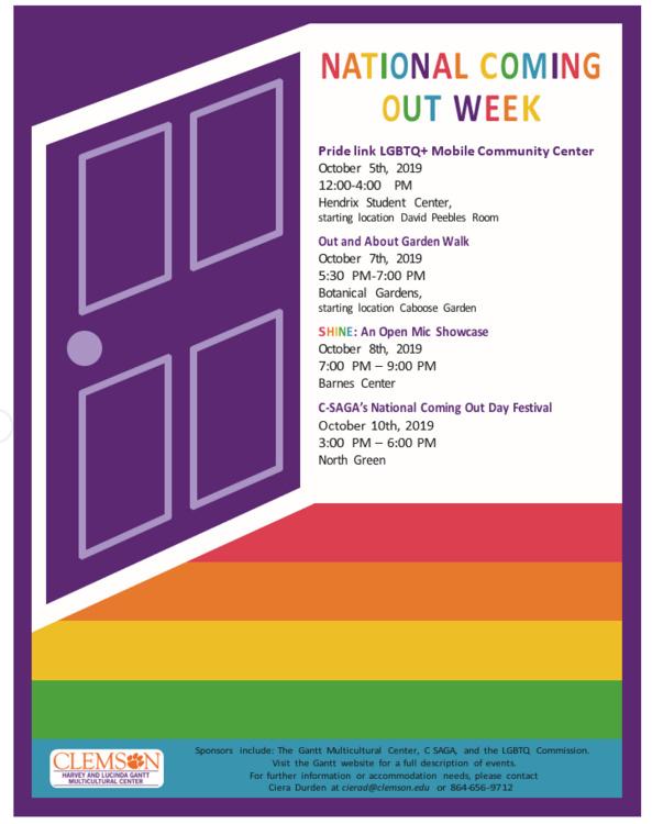 National Coming Out Week: SHINE: Open Mic Showcase