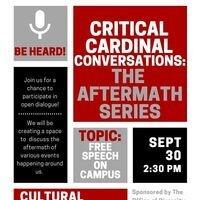 Critical Cardinal Conversation