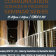 Communication Sciences in Progress Seminar Series