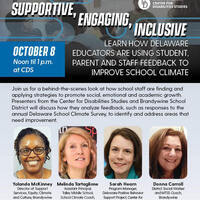 Lunchtime Learning: Supportive, Engaging, Inclusive