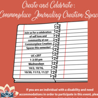 Common Place Journaling | Center for Gender Equity