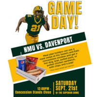 Students - use a meal swipe at Saturday's game!