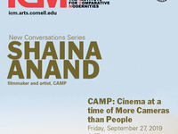 "Shaina Anand, ""CAMP: Cinema at a time of more People than Cameras"""