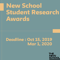 New School Student Research Awards