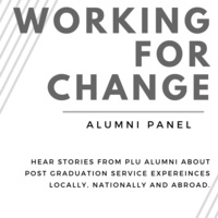 Working for Change Alumni Panel