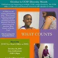 UCSF Diversity Month Event at ZSFG - Film Screening