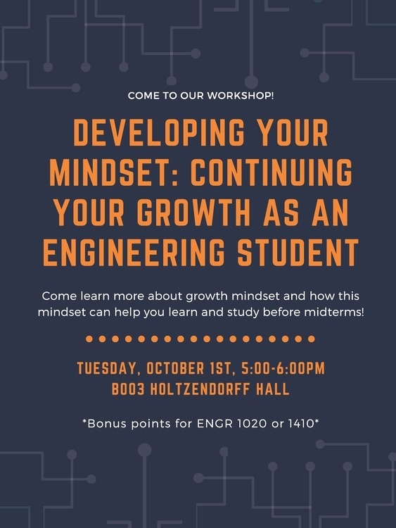 Developing Your Mindset: Continuing Your Growth as an Engineering Student