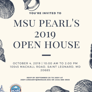 MSU PEARL'S 2019 OPEN HOUSE