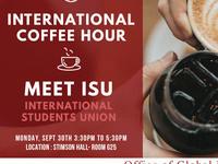 International Coffee Hour X ISU