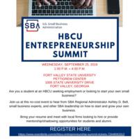HBCU Entreprenurship Summit