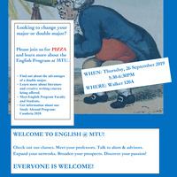 Welcome to English @ MTU!