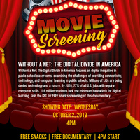 WITHOUT A NET: THE DIGITAL DIVIDE IN AMERICA - FREE DOCUMENTARY SCREENING + SNACKS