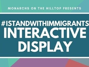 #IStandWithImmigrants National Day of Action: Interactive Display