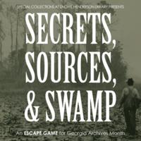 Secrets, Sources, & Swamp: An Escape Game for Georgia Archives Month
