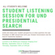 Presidential Search: Student Listening Sessions