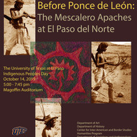 Before Ponce de León: The Mescalero Apaches at El Paso del Norte