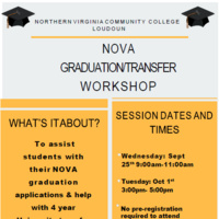 Graduation/Transfer Workshop
