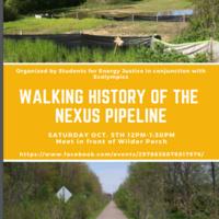 Walking History of the NEXUS Pipeline