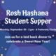 Rosh Hashanah Student Supper