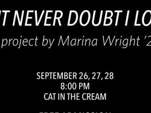 But Never Doubt I Love Poster Event Info