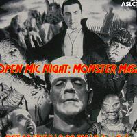Open Mic Night: Monster Mash