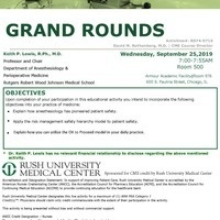 Grand Rounds: Making Patient Safety Part of your Daily Culture