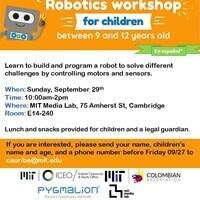 Robotics Workshop for Children - En español
