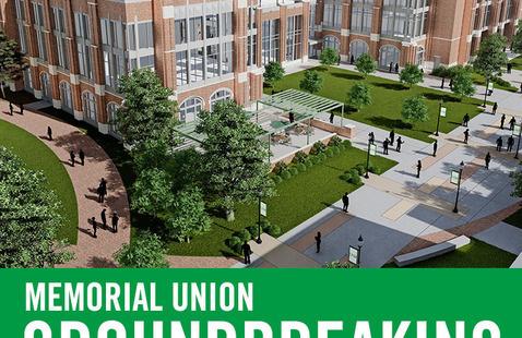 Memorial Union Groundbreaking Ceremony