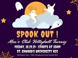 SPOOK OUT Men's Club Volleyball Tourney (Cancelled)